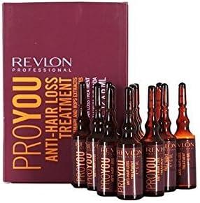 Revlon Professional - Tratamiento ProYou anticaída del cabello, 6 ml, 12 unidades