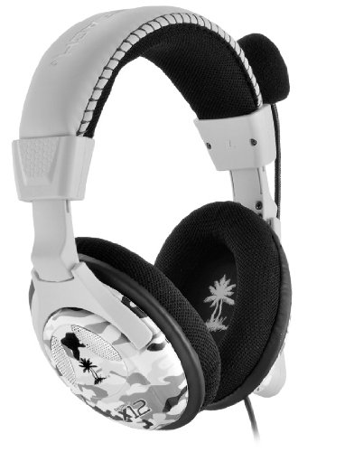Turtle Beach - Ear Force X12 Amplified Stereo Gaming Headset - Xbox 360 - Arctic Camo (Xbox Camo Headset 360)