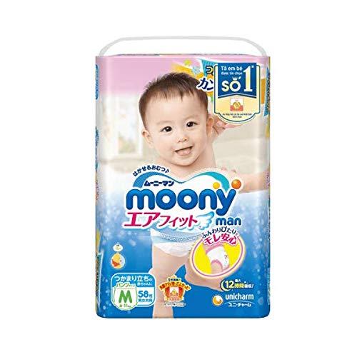 Moony Pa/ñales japoneses ni/ña 9-14 KG talla L
