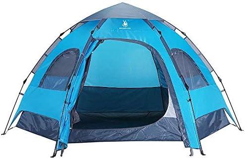 Lichtgewicht Tent Waterproof Light Tent Camping Outdoor Hiking Wild kamperen tent, eenvoudig te installeren, Blue Kamperen en wandelen (Size : Blue)