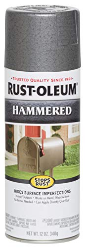 Rust-Oleum 7214830 7214-830 Spray Paint, Each, Gray ()