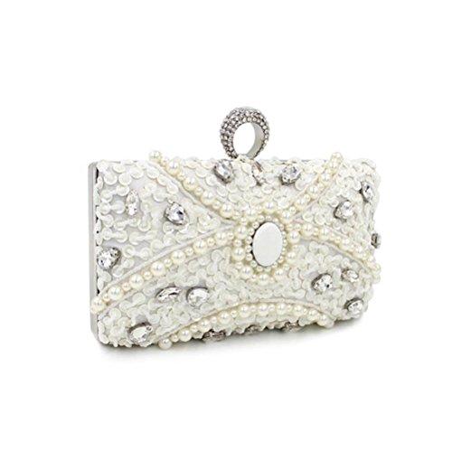 HBeauty pour HBeauty femme Pochette Blanc Pochette 8t5aqa