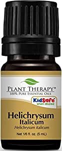 Plant Therapy Helichrysum Italicum Essential Oil. 100% Pure, Undiluted, Therapeutic Grade. 5 mL (1/6 Ounce).