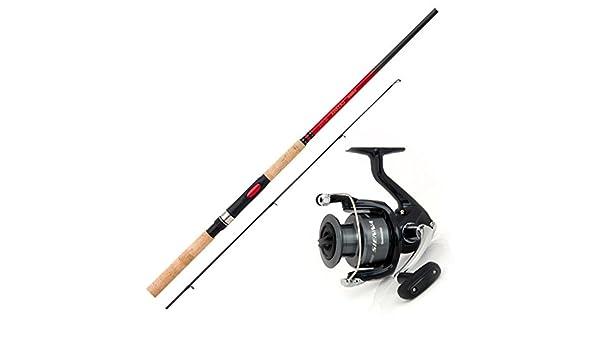 Shimano caña de pescar y carrete Juego Pesca Combo Angel Set No 1 ...