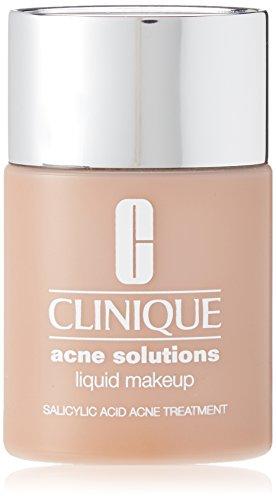Clinique Acne Solutions Liquid Makeup, shade=Cream Caramel (Prone Skin Foundation Acne)