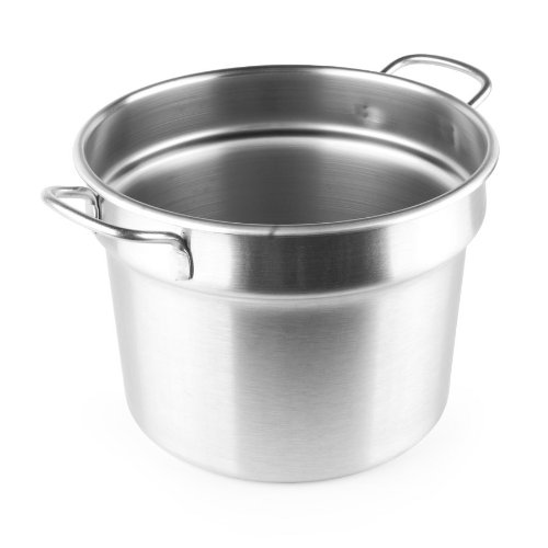 Vollrath 77113 11 Qt. Stainless Steel Double Boiler Inset - Flat Bottom