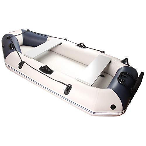 CVEUE OS Kayak Thickening 0.70mm Clip Net Material Dinghy Assault Boat Kayak Inflatable Fishing Boat Full Kayak Paddle Holder