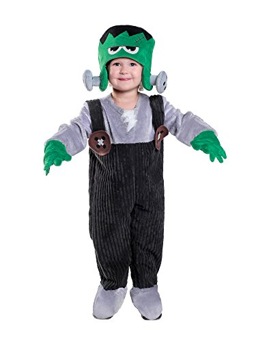 [Princess Paradise Baby Little Monster Costume, As Shown, 18M/2T] (Boys Frankenstein Costumes)
