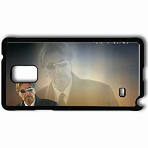 Personalized Samsung Note 4 Cell phone Case/Cover Skin Al pacino glasses suit actors Black