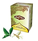 Yogi Green Tea Rejuvenation, Herbal Tea Supplement, 16-Count Tea Bags (Pack of 6) ( Value Bulk Multi-pack)