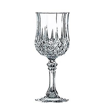 59bac38e490cae Cristal d Arques, Longchamp Verre de vin 250ml, sans repère de remplissage,