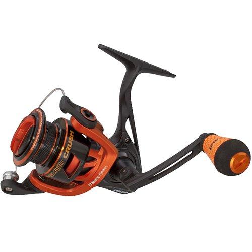 Lews Fishing MCR400 Mach Crush Speed Spinning Reel, 400 Reel Size, 6.2: 1 Gear Ratio, 35″ Retrieve Rate, 11 Bearings, Ambidextrous Review