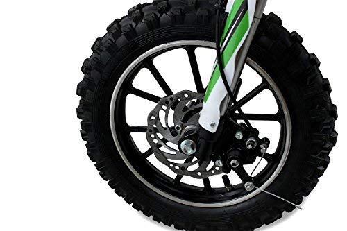 Niños Mini Moto Cross Gazelle 49CC 2-takt INCLUSIVE TUNING EMBRAGUE 15mm CARBURADOR Easy TIRE Iniciar REFORZADO HORQUILLA MOTO DE CROSS DIRTBIKE BOLSILLO ...
