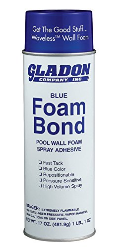 gladon Spray Adhesive 17-Ounce Can (Spray Foam Wall)