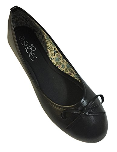 Ladies Ballerina Flats Shoes - 9