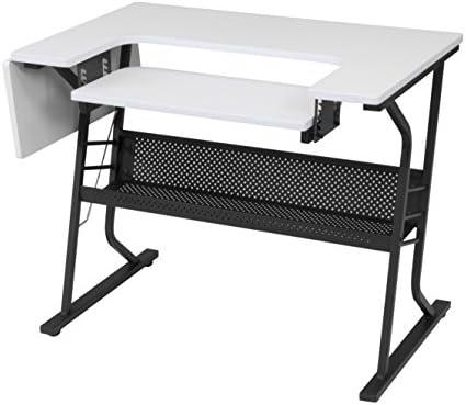 nos Stock] anbeaut Home Interior ajustable Plataforma máquina de coser mesa ordenador escritorio: Amazon.es: Juguetes y juegos