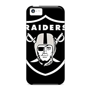 Defender Cases For Iphone 5c, Oakland Raiders Pattern