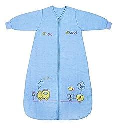 Slumbersafe Winter  Sleeping Bag Long Sleeves 3.5 Tog Choo Choo 6-18 mth/MEDIUM