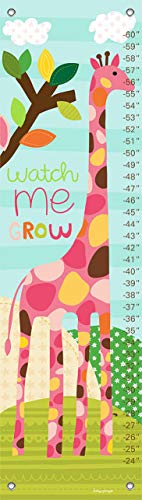 Baby Oopsy Growth Daisy Charts - Oopsy Daisy Growth Charts Watch Me Grow Girl by Lesley Grainger, 12 by 42-Inch