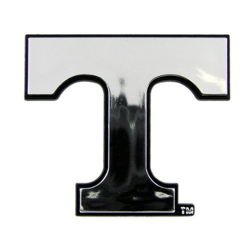 Tennessee Volunteers NCAA Chrome 3D for Auto Car Truck Emblem Decal Sticker College Officially Licensed Team Logo