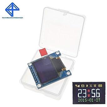 0 95 Inch SPI Full Color OLED Display DIY Module 0 95