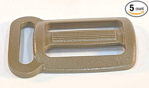 VersaMule Sternum Strap Adjuster Sliplock Buckle for 1 x 3//4 Webbing Tri-Glide Chest Strap