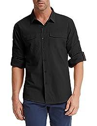 Men's Button Down Casual Shirt Soft and Comfy Cotton Shirt