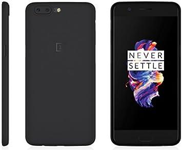 Estuche fino OnePlus 5 MNML (negro claro): Amazon.es: Electrónica