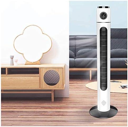 GWM Ventilatore a Torre Oscillante Telecomando Silenzioso Funzione, Timer Vortice Bidirezionale Ice Tower Fans 7.5 Ore, per Camera da Letto E Ufficio (Bianco, 40W)