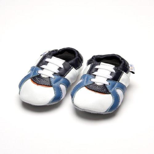 Jinwood designed by amsomo - Patucos de Piel para niña Multicolor - trainer white soft sole