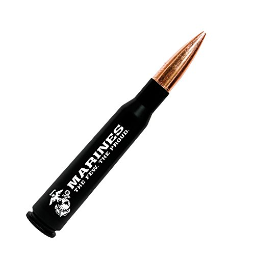 ottle Opener – Previously Fired Marine Corps BMG 50 Caliber Real Bullet Casing ()