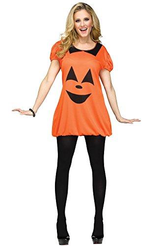 Fun World Pumpkin Romper Adult Costume-