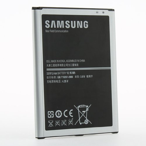Price comparison product image Original OEM 3200mAH Samsung Standard Battery Cell For Samsung Galaxy Mega 6.3 i9200 - Non-Retail Packaging - Silver
