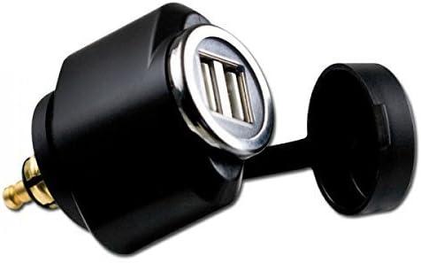 Cliff-Top 2.1 Amp BMW Motorcycle Hella (DIN) a adaptador USB (Mini)