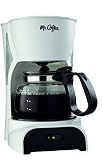 Mr. Coffee 4-Cup Coffee Maker, White (B000BR15SS) | Amazon price tracker / tracking, Amazon price history charts, Amazon price watches, Amazon price drop alerts