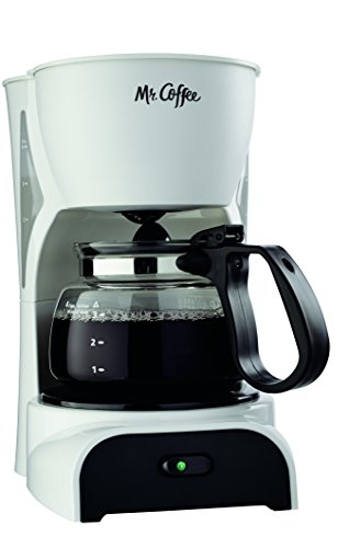Mr Coffee White Coffee Maker - Mr. Coffee 4-Cup Coffee Maker, White