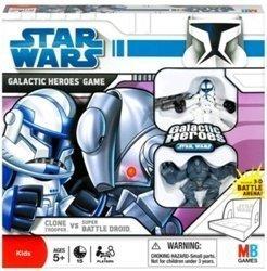 Wars Heroes Galactic Game (Star Wars: The Clone Wars Galactic Heroes Game - Clone Trooper vs. Super Batt...)