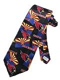 Team NFL Mens Arizona Cardinals Necktie - Black - One Size Neck Tie