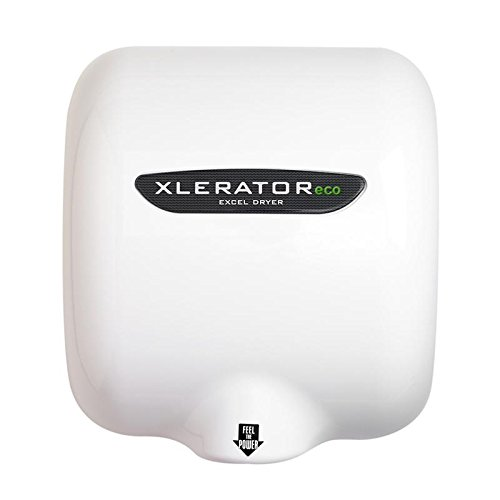 XleratorEco XL-W-ECO White Epoxy No Heat Hand Dryer - 208V by Excel Dryer