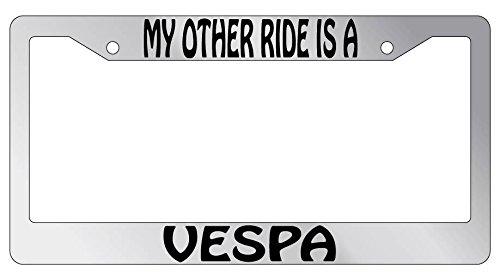 vespa license plate frame - 8