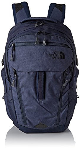 The North Face Surge Urban Navy Lthr/Unban Navy Unisex Daypack by The North Face