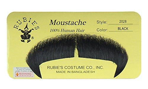 Rubie's Winchester Fake Moustache, Black, One Size ()