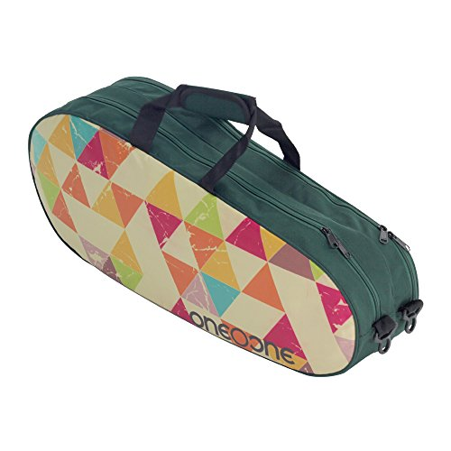 One O One   Canvas Collection Double Compartment   Badminton/Tennis Kitbag