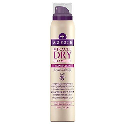 Aussie Dry Shampoo Instant Clean für normales bis fettiges Haar, 1er Pack (1 x 180 ml)