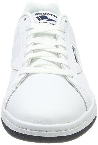 white Bianco Fitness Navy Cln collegiate Scarpe Royal Uomo Cmplt Reebok Lx Da 8wzUxTcqC