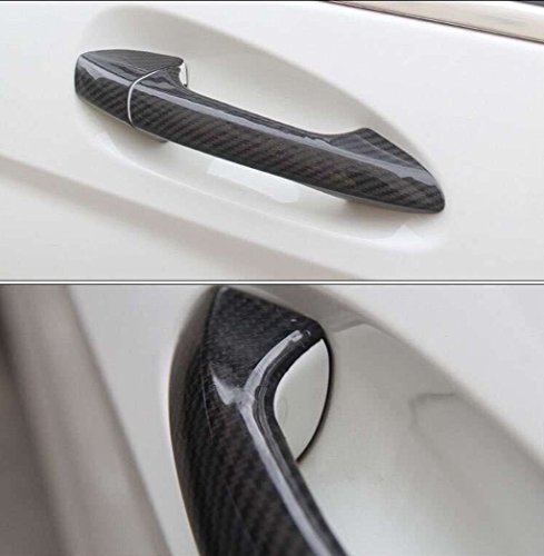New Carbon Fiber Handle Covers for MERCEDES BENZ B-Klasse (W246) 2012-2018 B160 B180 B200 B220 B250 (With Touch Auto Lock, Left Hand Drive)
