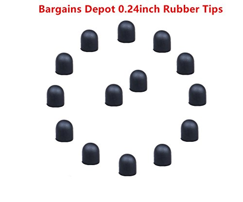 bargains-depot-15pcs-024-dia-soft-replacement-rubber-tips-please-note-these-tips-only-fit-for-bargai