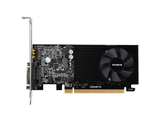 Gigabyte GV-N1030D5-2GL 2GB GDDR5 - Tarjeta gráfica (NVIDIA, GeForce GT 1030, 4096 x 2160 Pixeles, 1257 MHz, 1506 MHz, 2 GB)