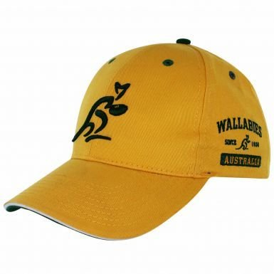 Official Australia Wallabies Rugby Baseball Cap by ASICS (Cap Australia)