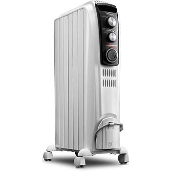 Amazon.com: DeLonghi Oil-Filled Radiator Space Heater, Full ...